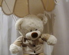 LUSTRE INFANTIL PARAQUEDAS URSO