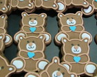 Biscoito decorado - Teddy Bear