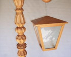 luminria com pedestal