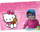 Convite Hello Kitty 03