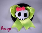 BOTTON SKULL COM LAO - 5,5CM