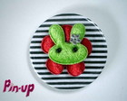 BOTTON BUNNY GREEN