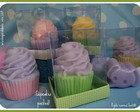SABONETE CUPCAKE EMBALADO MATERNIDADE!