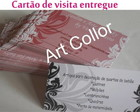 Cart�o de visita entregue