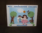 Meu irmozinho chegou