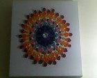 Quadro em quilling - Mandala dos Chacras