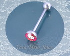 PIERCING DE L�NGUA HELLO KITTY