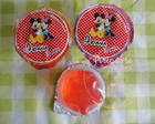 Gelatina Mickey e Minnie