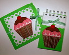 Kit Cupcake - Convite e Lembrancinha