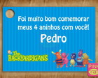 Tag Backyardigans!