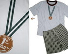 Pijama Medalha Melhor pai do mundo