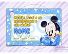 Tag para Imprimir - Mickey