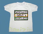 T-Shirt Beb e Infantil GENTILEZA