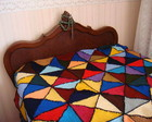 Colcha de Tric Patchwork-(indisponvel)