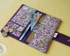 Kit Carteira + porta cart�o - Lilac