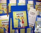 CONVITE SCRAPBOOK - NOIVADO