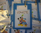 CONVITE SCRAPBOOK - TURMA DO MICKEY 2