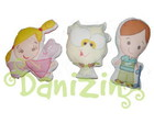 Almofadinhas/ Naninhas Mascotes Danizin