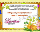 TAG / Carto de Agradecimento Baby Pooh