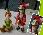 Topo de Bolo Peter Pan