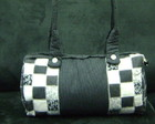 Bolsa Patchwork preta