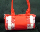 Bolsa Patchwork Vermelho