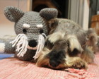 Schnauzer - Amigurumi