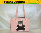 URSO MARROM BOLSA OMBRO SALMO