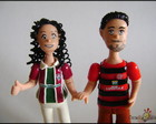 Casal cartoon FlaxFlu