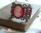 Bracelete Victorian Years Red
