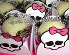 Forminhas para doces - Monster High