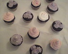 Cupcakes em tons past�is