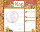Template Blog Outono Fazenda