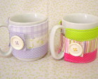 Mug Hug - Caneca com aplique