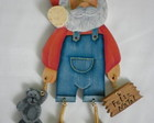Papai Noel de jeans