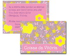 Tag Patchwork Rosa & Amarelo