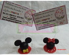 Porta recado Mickey e Minnie