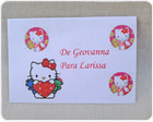 Envelope Personalizado - Hello Kitty