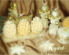 KIT  VELAS NATAL LUXO