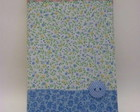CADERNO BROCHURA P PATCH AZUL II