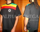 T-Shirt Reggae Resistncia PRETA