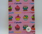 CADERNO BROCHURA P CUPCAKE ROSA