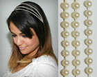 Headband CINDERELA champagne