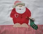 Pano de prato&quot;Papai Noel de Pijama