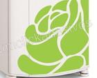 adesivo geladeira flor/frete grátis