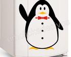 adesivo geladeira pinguim/frete grátis