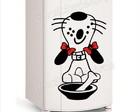 adesivo geladeira cachorro/frete grátis