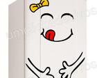 adesivo geladeira feliz/frete grátis