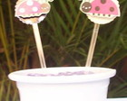 Mini Toppers para doces Joaninha