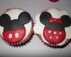 Cupcakes da Mickey e Minnie
